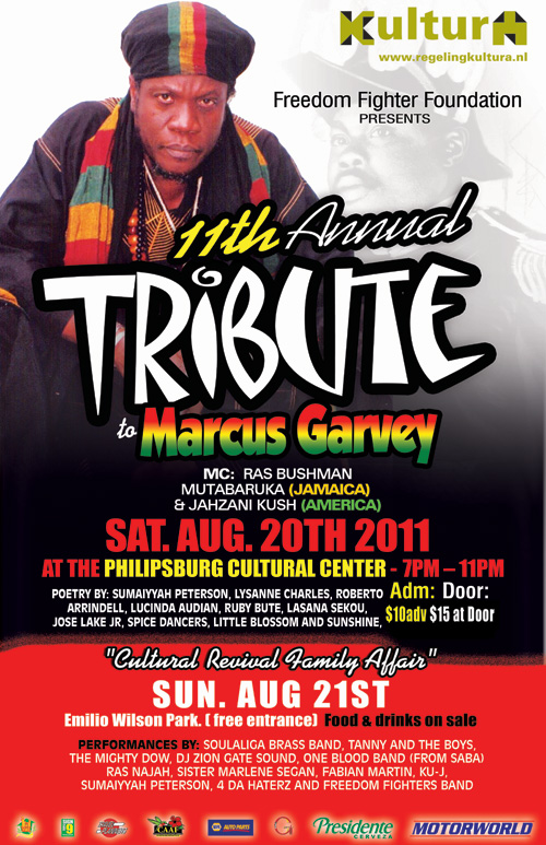 11th Marcus Garvey Tribute
